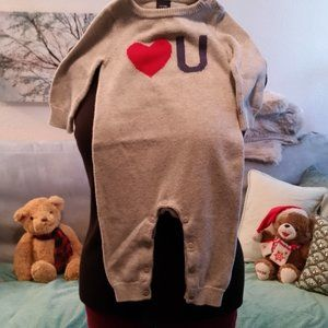 Knit onsie 6-12 month by Baby Gap